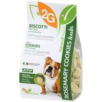 2G PET FOOD SALVIA COOKIES350G