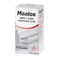 MAALOX*OS SOSP 200ML3,65+3,25%