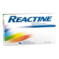 REACTINE*14CPR 5MG+120MG RP