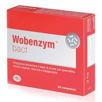WOBENZYM BACT 60CPR