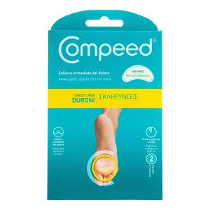 COMPEED Duroni Pianta Piede 2pz f.to 9,5 x 4,2 cm