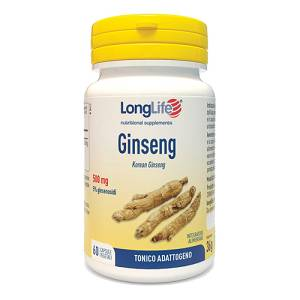 LONGLIFE GINSENG 5% 60CPS