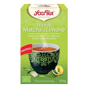 YOGI TEA TE' VE MACHA LIM BIO